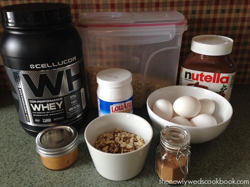 protein powder pancakes 1