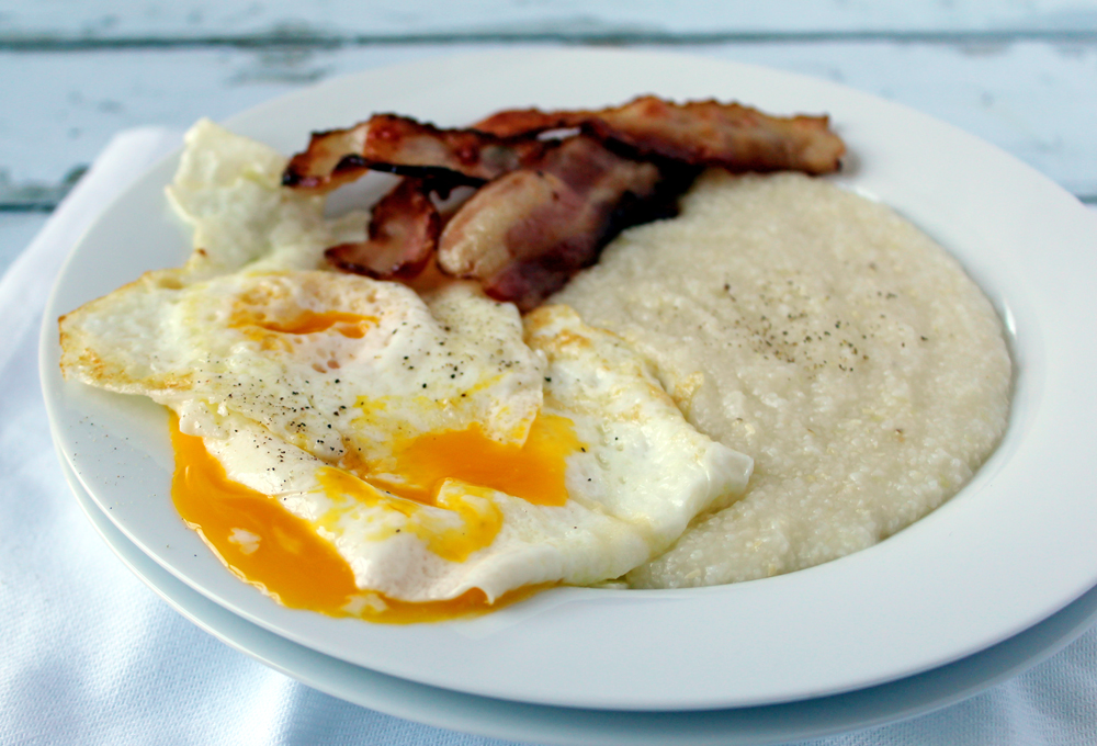 Eggs, Grits and Bacon