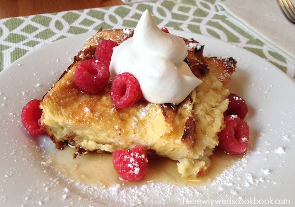 Fluffy Baked French Toast