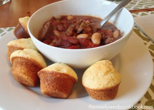 Crockpot Venison Chili The Newlyweds Cookbook