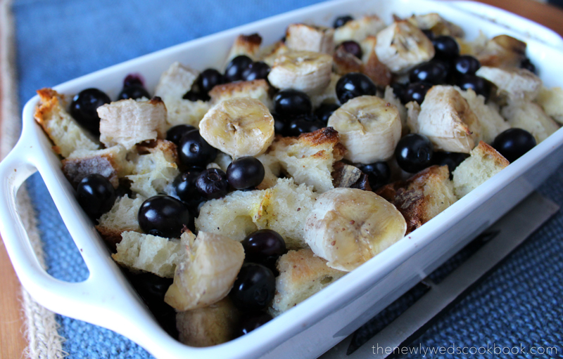 Banana Berry French Toast Casserole