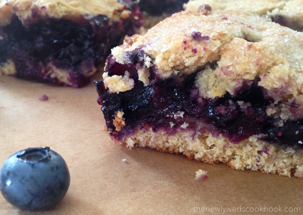 blueberry layer squares