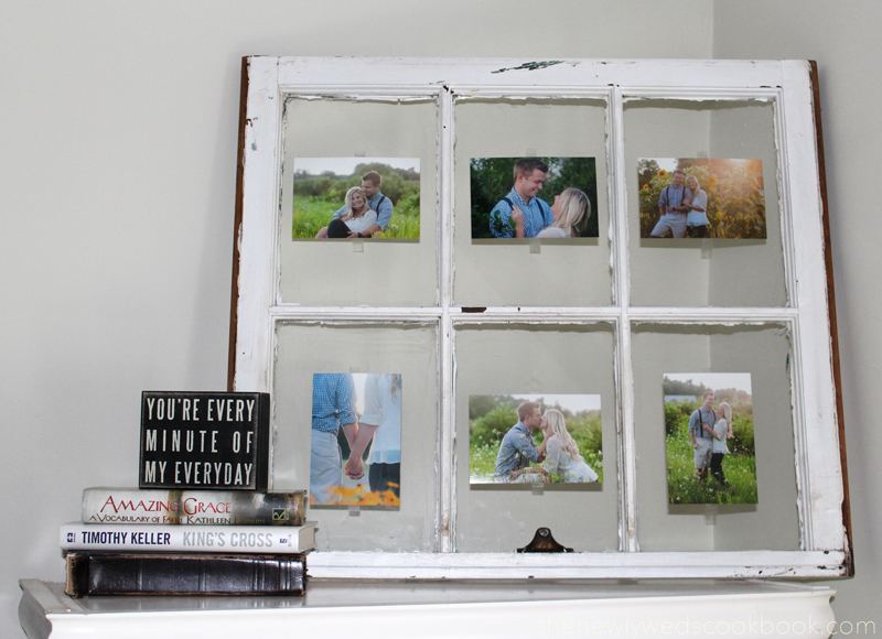 repurposed window frame