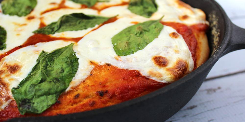 Margherita Skillet Pizza