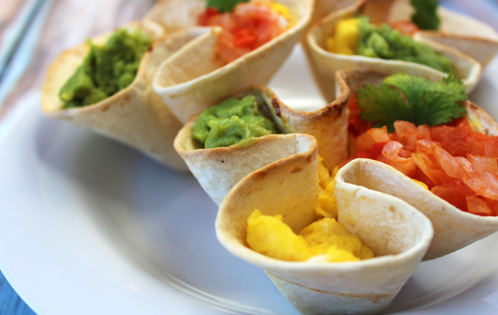 breakfast tortilla bowls