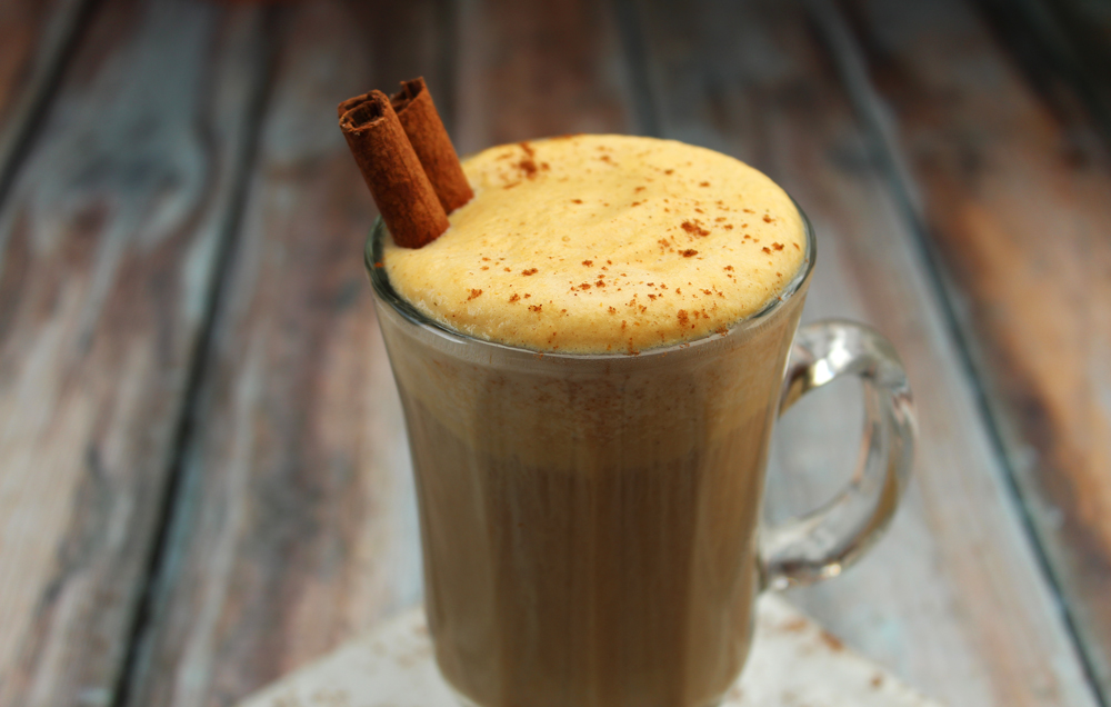 diy pumpkin spice latte