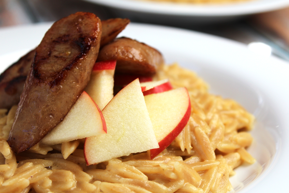 chicken apple orzo