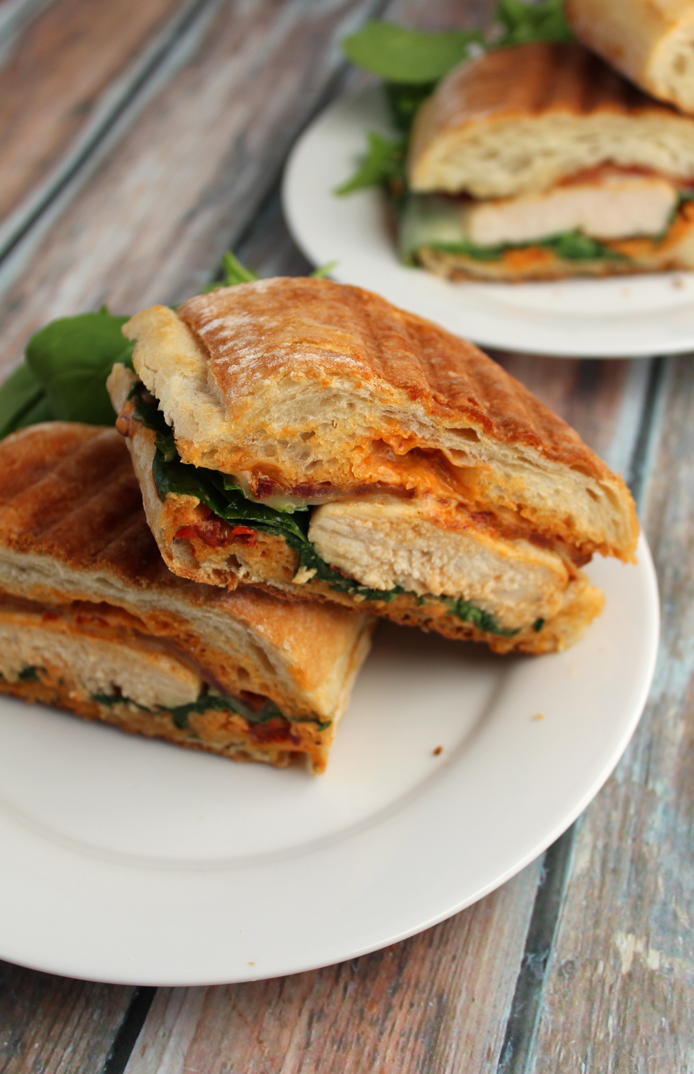 Chipotle Chicken Bacon Panini - The Newlyweds Cookbook